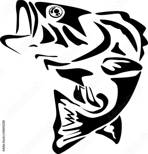 Fototapeta Fish illustration