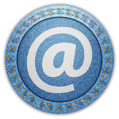 Denim E-mail button