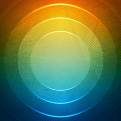 Vector Geometric Background. Grunge background with circles.