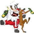 Party Christmas Cartoon - 58645017