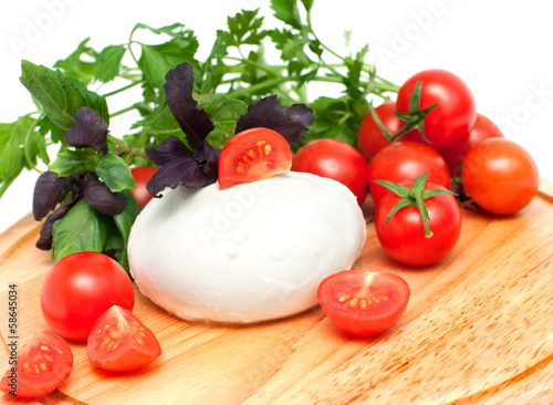 mozzarella for salad