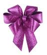 Pfiffig elegante violette Schleife