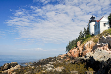 Bass Harbor Lighthouse, Acadia national park (USA)