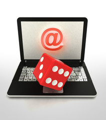 internet surfing and search info about craps entertainment