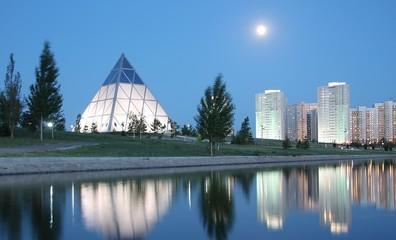 Kazakhstan expetition: modern capital city Astana