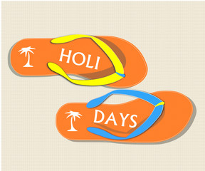 Tongs holidays