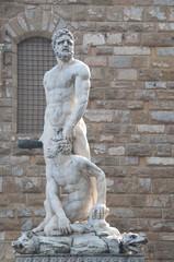 Ercole e Caco, Firenze