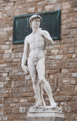 Replica del David di Michelangelo