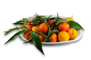 Cesta di mandarini