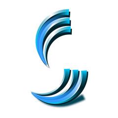 Icon für eine Firma mit zwei Abteilungen