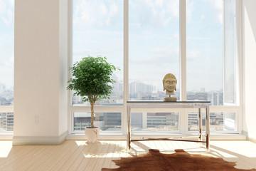 Modernes Loft im Zen Style