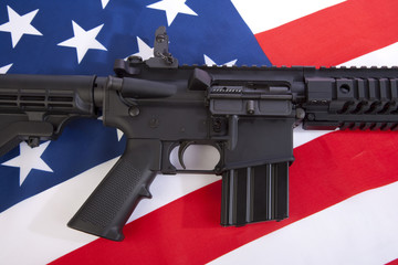 AR-15 Close Up