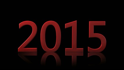 New 2015 year HD banner abstract