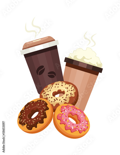 Donuts & Coffee to go
