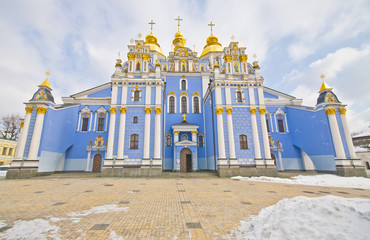 Saint Michael's Golden-Domed Cathedral - famous church complex i