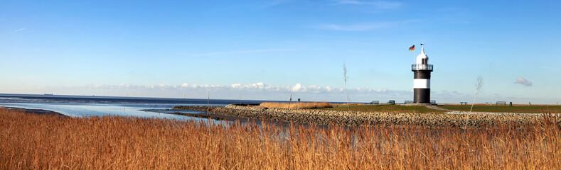 Panorama mit Leuchtturm