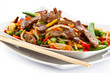 Chinese food - roasted meat and vegetables