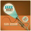 Retro jazz poster. - 58662697