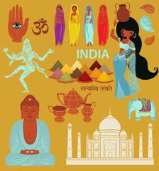 India: Landmarks, Symbols and Icons