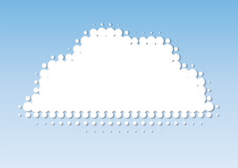 nuvole puntini