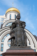 monument of the Elizabeth of Russia in Rostov on Don