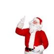 Weihnachtsmann auf weissem Hintergrund