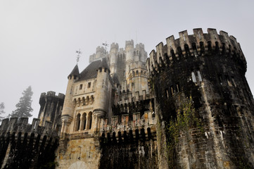 Castle of Butron, Basque Country (Spain)