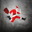 Moderner Santa