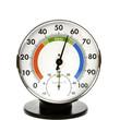 Leinwanddruck Bild - Hygrometer and Thermometer