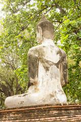 Ayuthaya Kingdom history, back of buddha