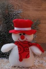 Weihnachtsdekoration Schneemann