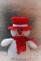 Winterliche Dekoration zu Weihnachten