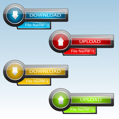 Download & Upload Buttons