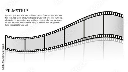 Stylish Filmstrip - 58670264