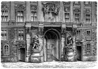 Chancellery in Vienna - 18th century