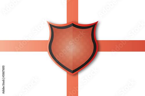 Schild Logo Schutz Vector