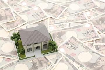 一万円と家