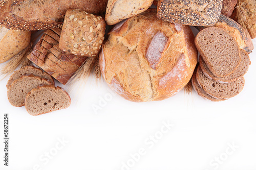 Foto op Canvas Brood assortment of bread