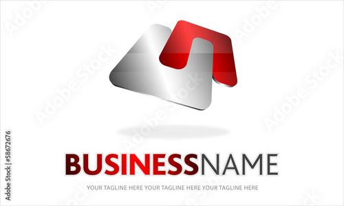 logo dinamico, incastro