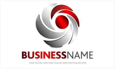 logo vortice rosso