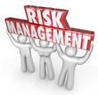 Risk Management People Team Lift Words Limit Liability