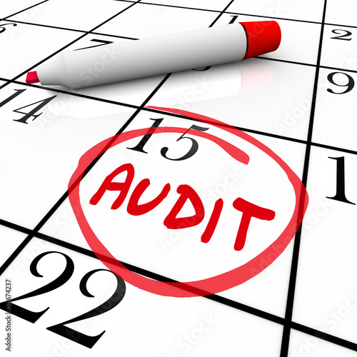 Audit Financial Budget Book Keeping Tax Day Date Calendar