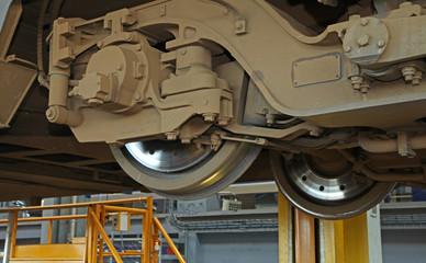 atelier de réparation ferroviaire