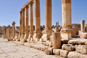 First cross street, Jerash (Jordan)