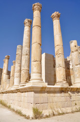 Temple of Zeus, Jerash (Jordan)