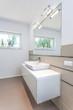 Bright space - washbasin area