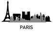 City ~ Stadt ~ Skyline ~ Horizont ~ Silhouette ~ Paris