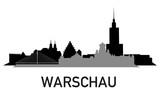 Fototapety City ~ Stadt ~ Skyline ~ Horizont ~ Silhouette ~ Warschau