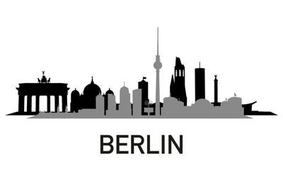 City ~ Stadt ~ Skyline ~ Horizont ~ Silhouette ~ Berlin