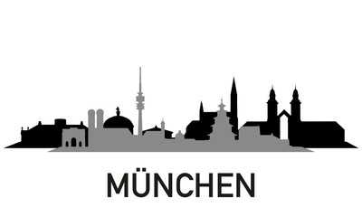 City ~ Stadt ~ Skyline ~ Horizont ~ Silhouette ~ München
